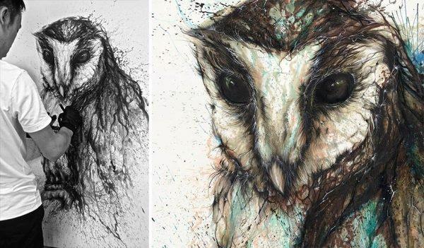 Pinturas urbanas feitas de animais (4)
