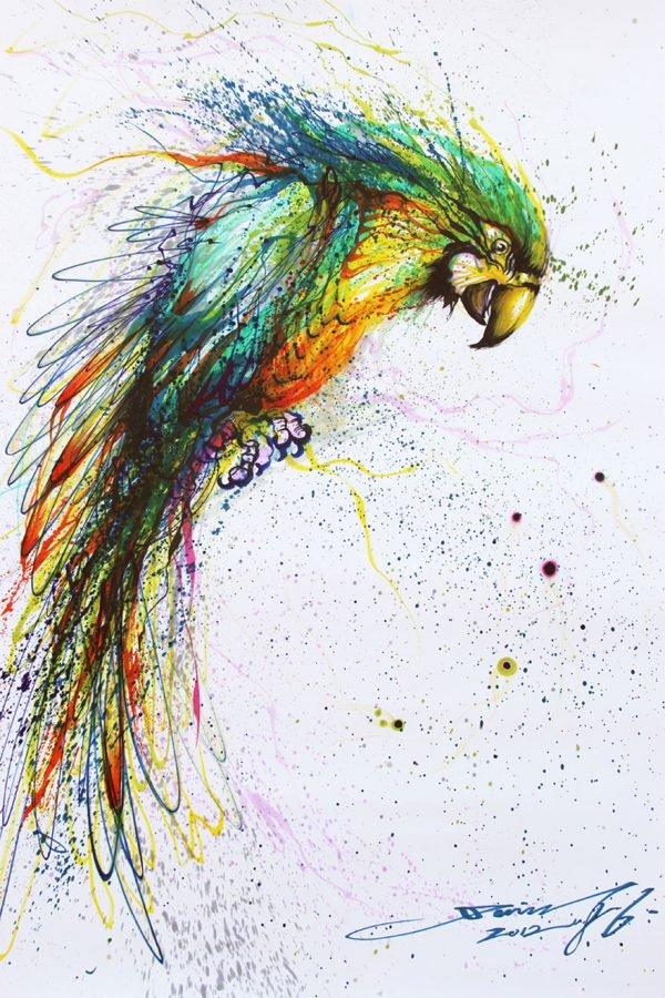 Pinturas urbanas feitas de animais (6)