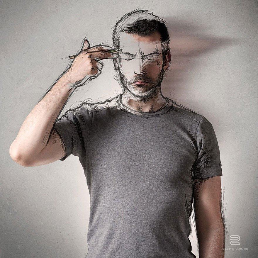 Fotografias criativas que parecem desenhos (9)