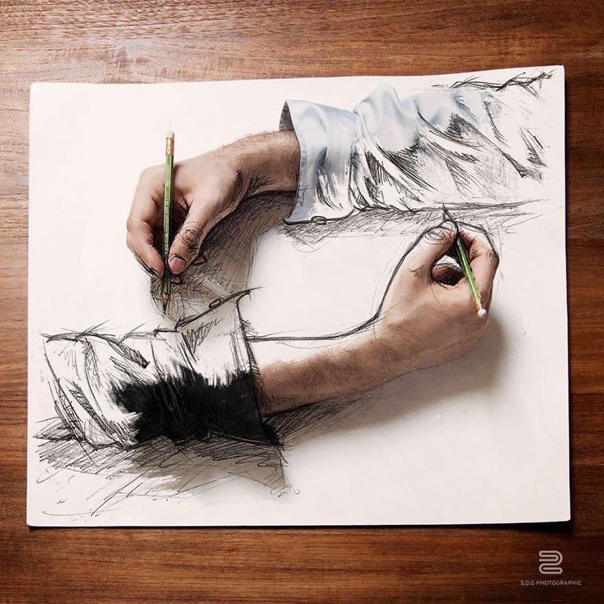 Fotografias criativas que parecem desenhos (5)