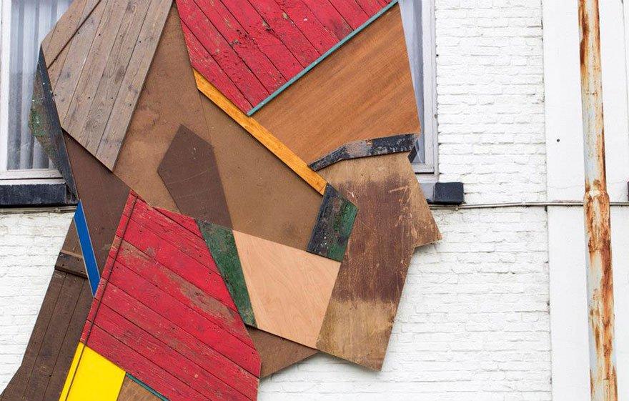 Arte urbana feita com madeira (5)