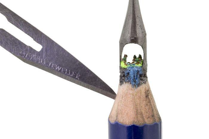 Esculturas impressionantes em ponta de lápis (9)