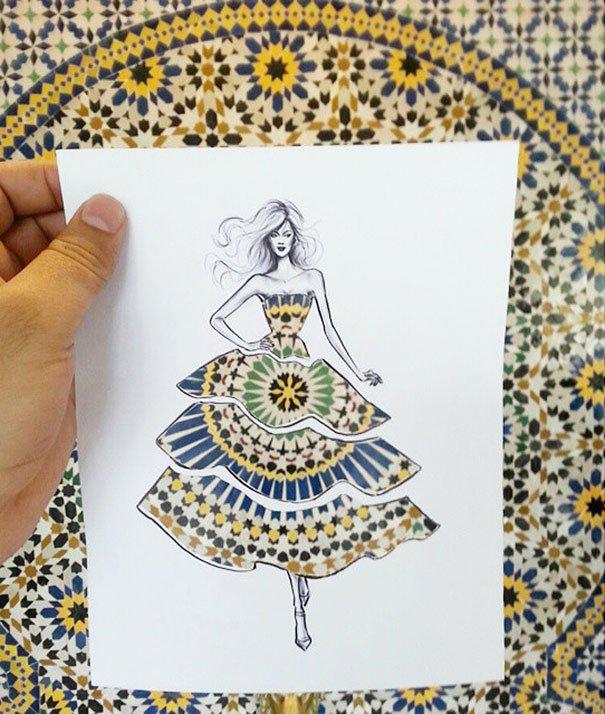 Desenhos inspiradores para modistas (2)