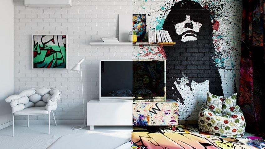 Arte urbana e minimalismo juntos (4)