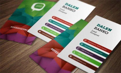 Cartões de visita com efeito poly (9)