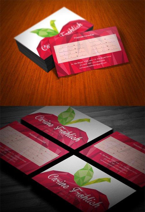 Cartões de visita com efeito poly (8)