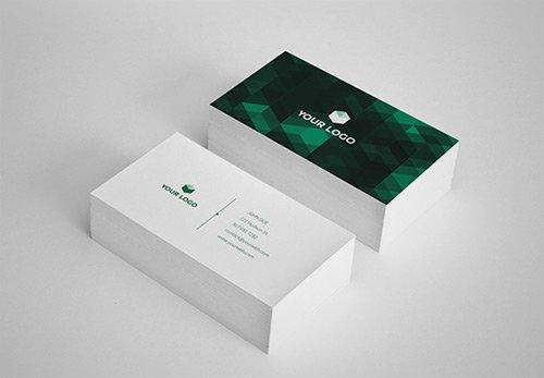 Cartões de visita com efeito poly (20)