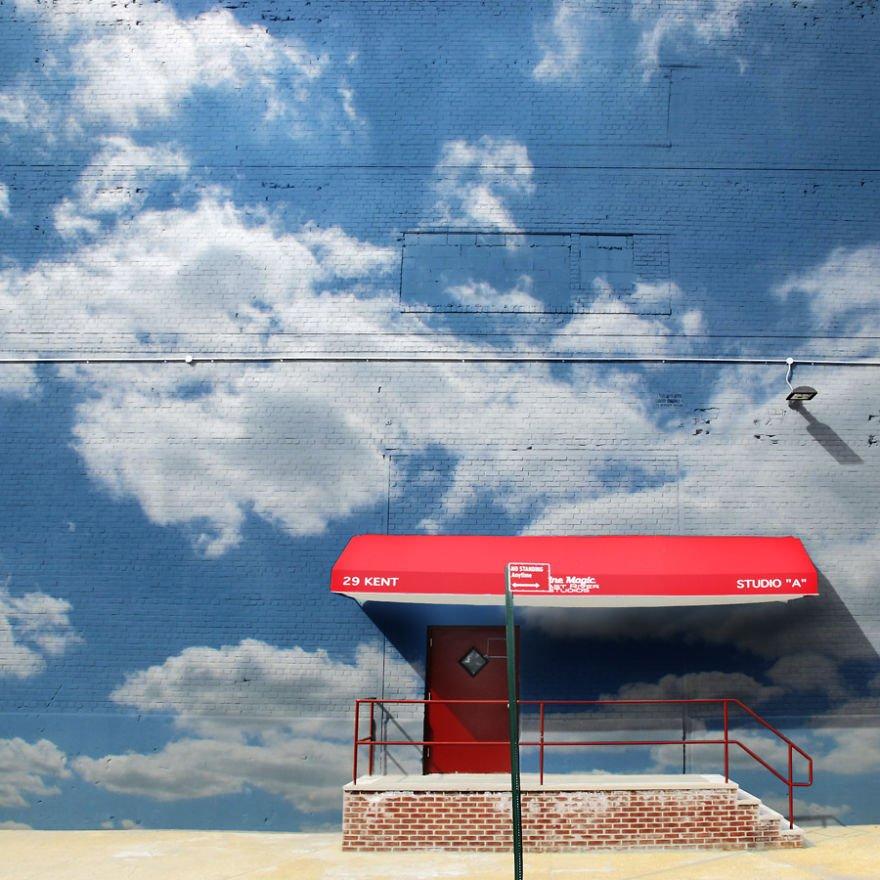 Pinturas lindas no céu em artes urbanas (8)