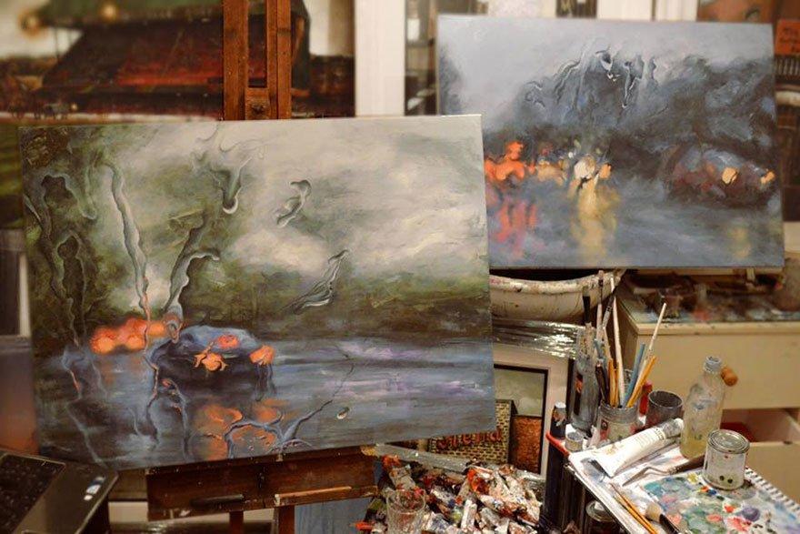 Pinturas da chuva (9)