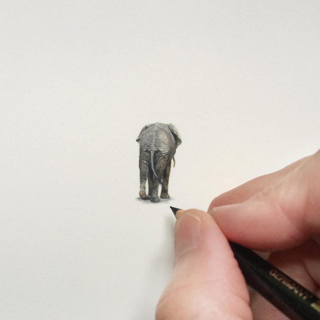 Desenhos e pinturas pequenas e criativas (7)