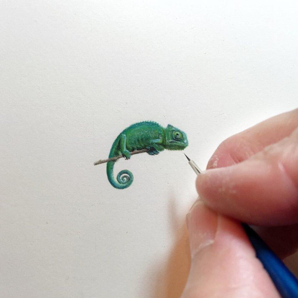 Desenhos e pinturas pequenas e criativas (1)