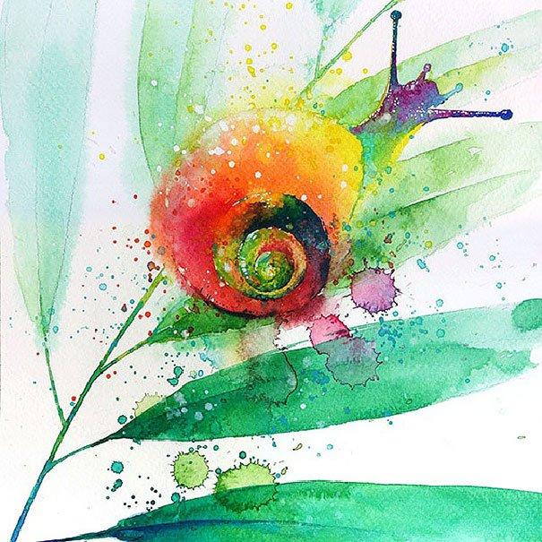 Pinturas em aquarela (5)