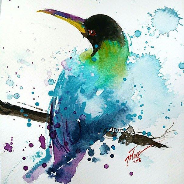 Pinturas em aquarela (9)
