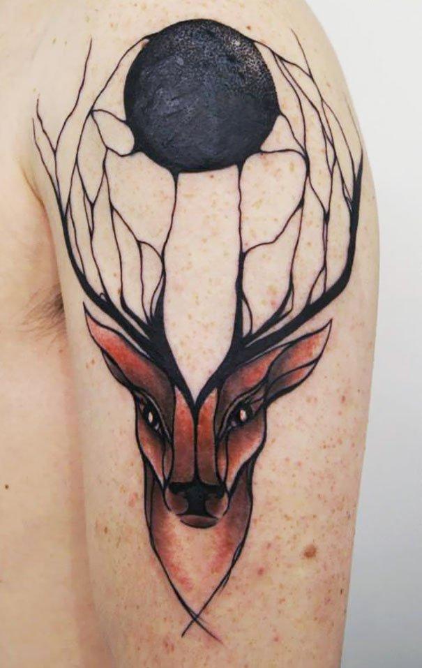 Tatuagens criativas inspiradas na natureza (5)