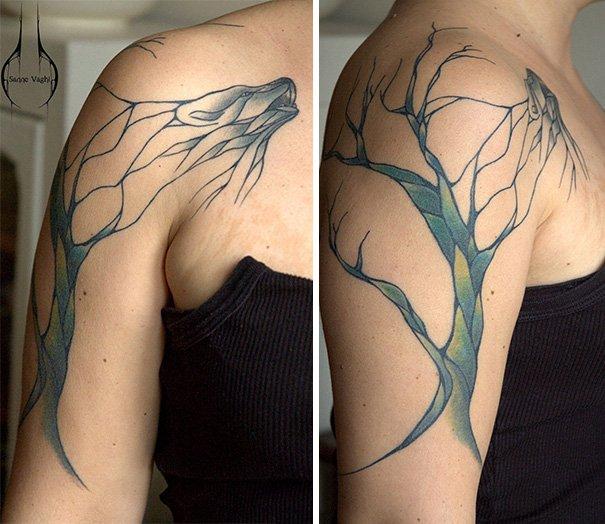 Tatuagens criativas inspiradas na natureza (2)