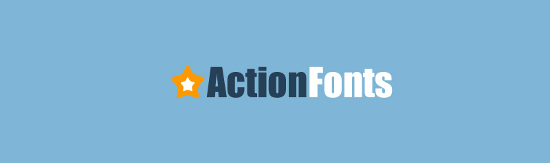 action-fonts