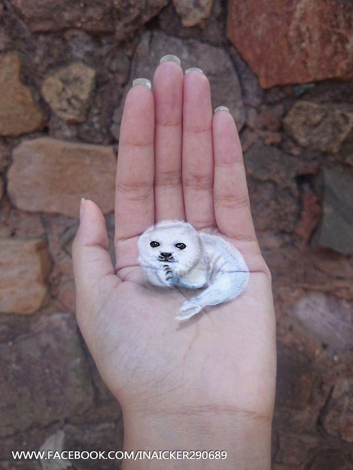 Lindos desenhos 3D feitos na mão (6)