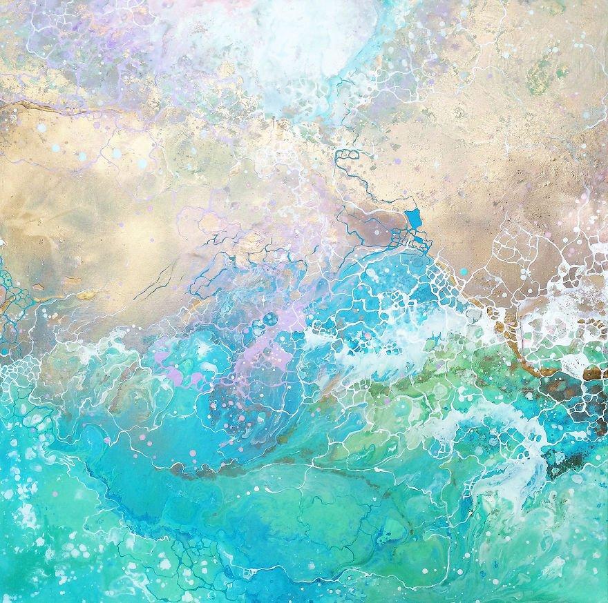 Pinturas abstratas (5)