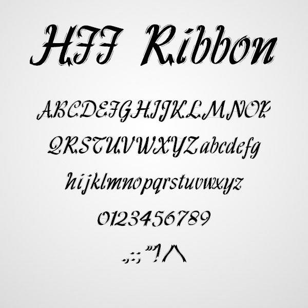 11 fontes gr tis com letras de estilo la o fitas e for Estilos de letras