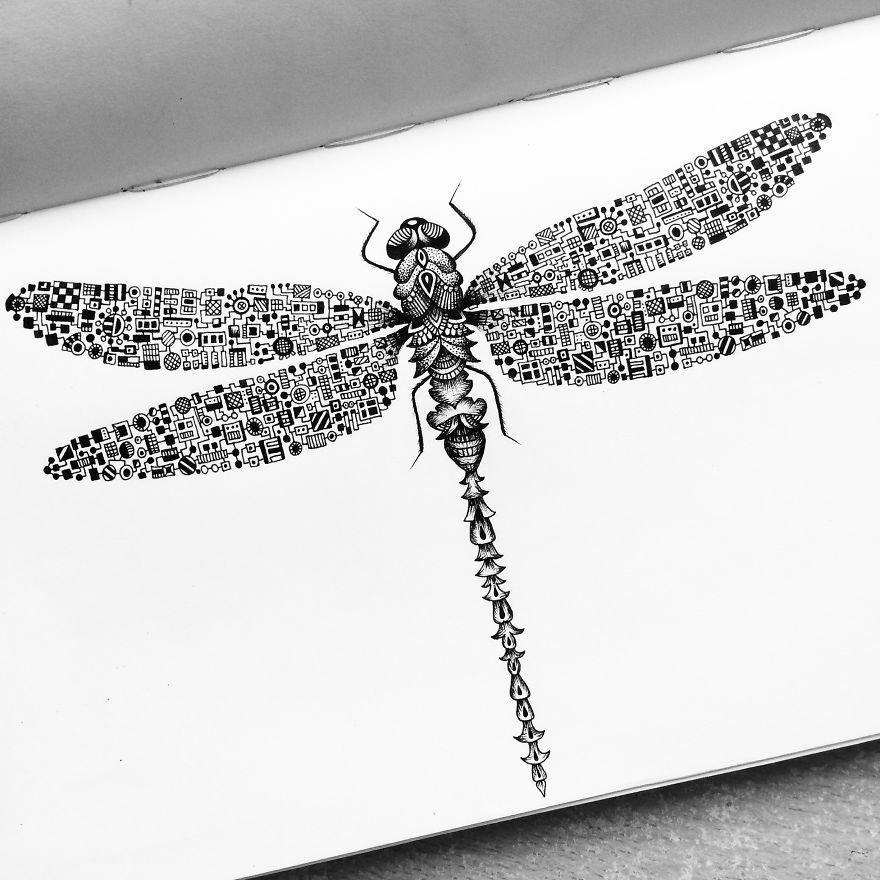Desenhos super criativos e detalhistas (16)