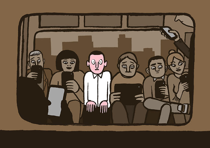 ilustrações sobre o cotidiano das pessoas (5)