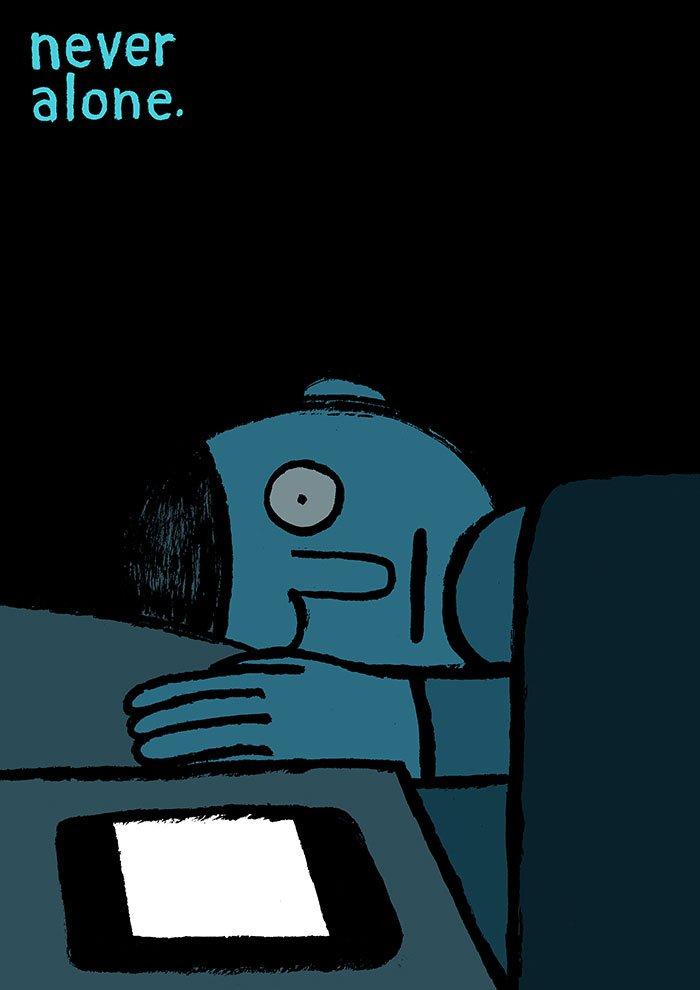 ilustrações sobre o cotidiano das pessoas (2)