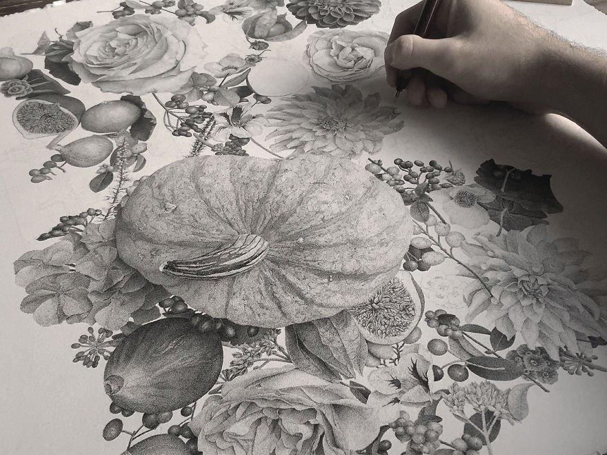 Desenhos criativos com pontilhados (8)