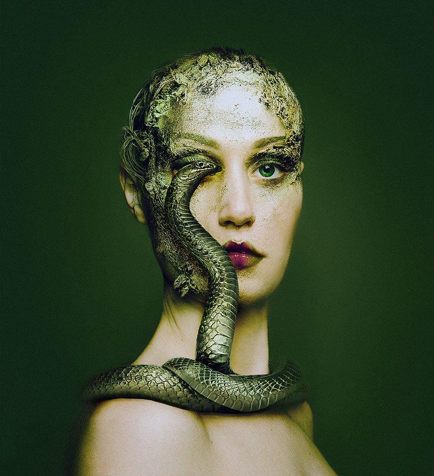 Fotografias criativas de humanos e animais (2)