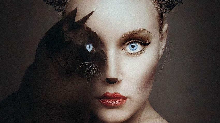 Fotografias criativas de humanos e animais (1)