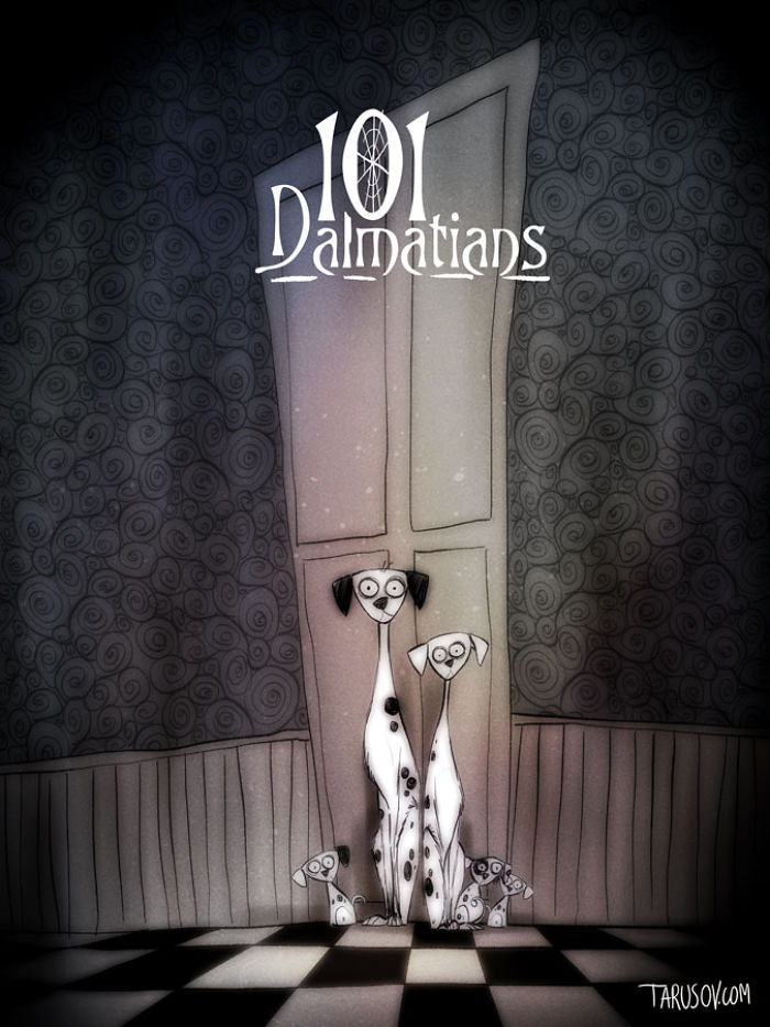 desenhos da disney inspirados em Tim Burton (5)