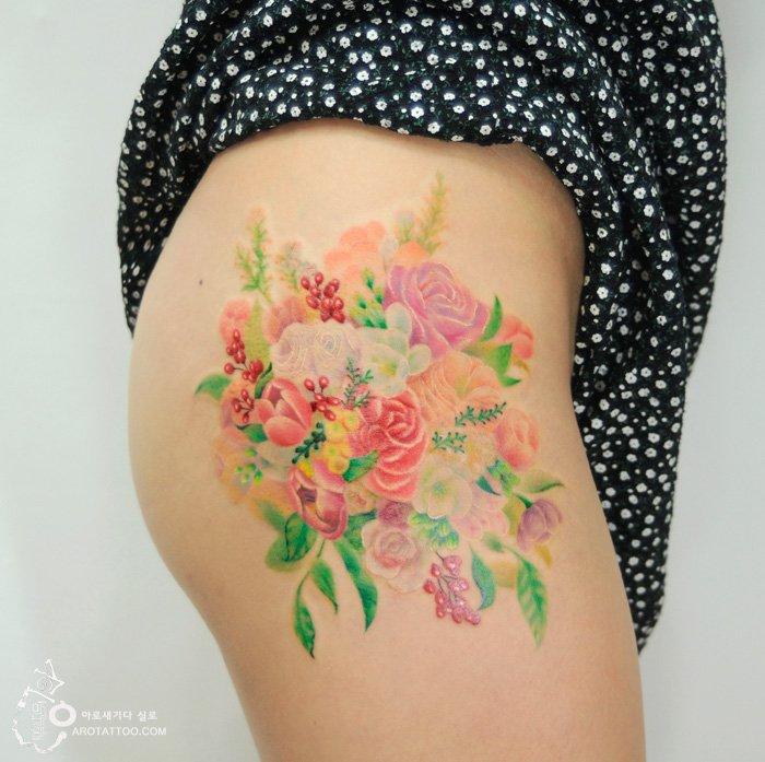 Tatuagens com efeito de pintura (10)