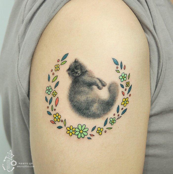 Tatuagens com efeito de pintura (6)