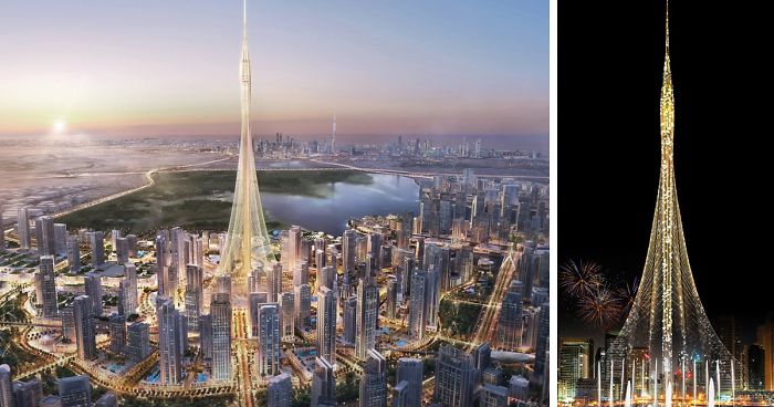 dubai se prepara para a nova torre mais alto do mundo