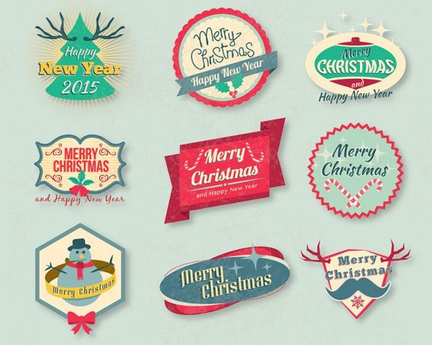 vetores de feliz natal