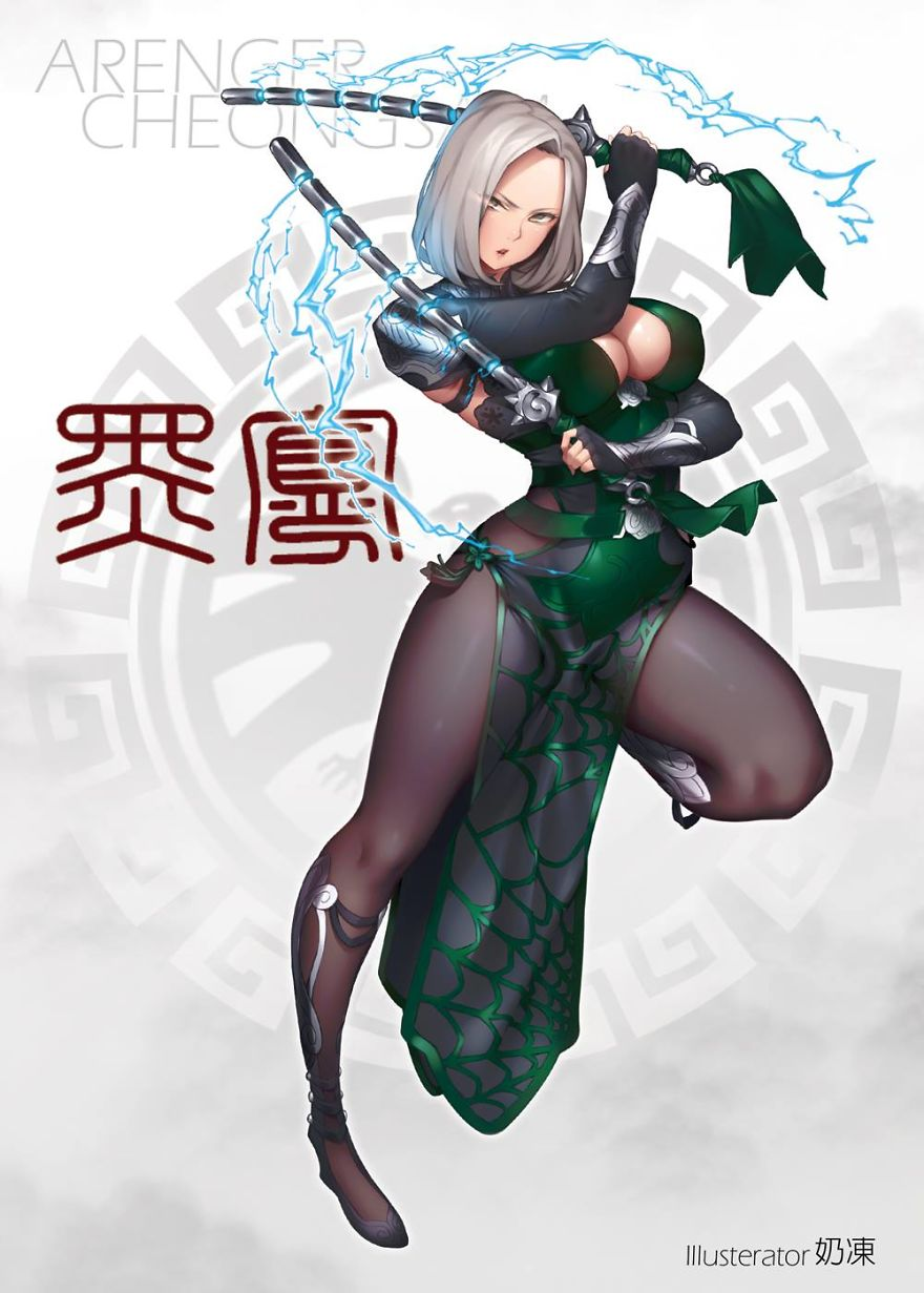 Anime inspirado na Viúva Negra