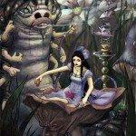 Imagens criativas de Alice no país das maravilhas