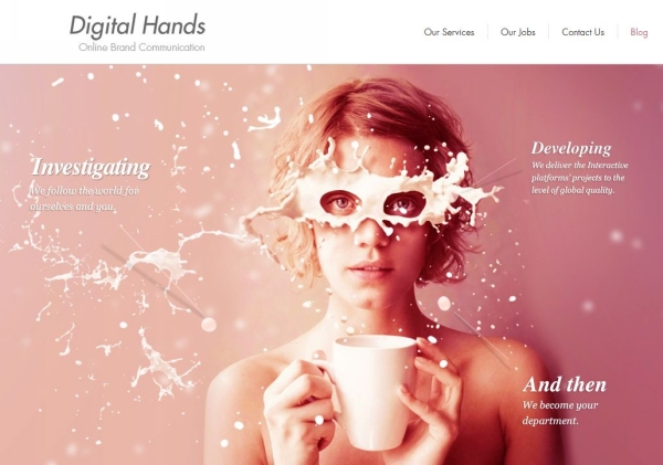 30 layouts de sites inspirionais