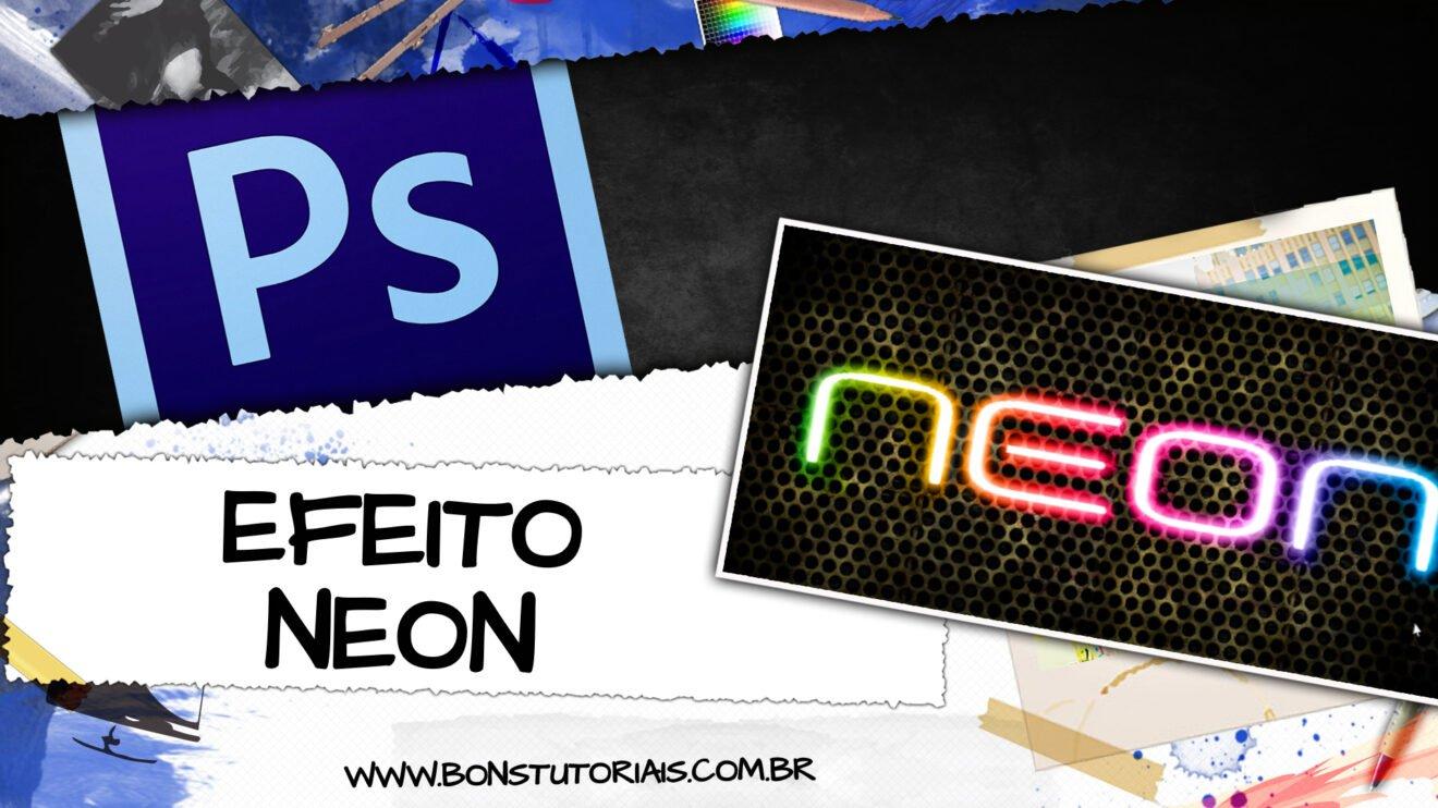 aprenda a fazer um neon de balada no photoshop, tutorial fácil e rápido!