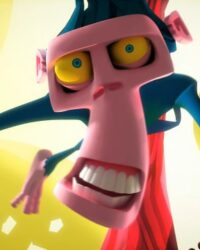 Animação shave it veja o que acontece com o macaco, feita pelo 3dar estúdio