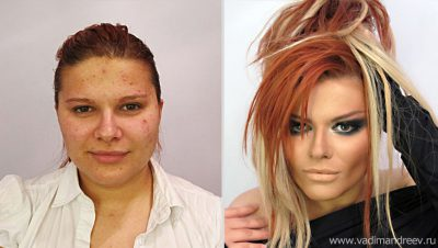 O Photoshop sai de cena e perde para o mais simpes de maquiagem, a maquiagem tradicional, veja as mudanças (8)