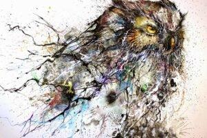 Pinturas de corujas super criativas e inspiradoras (5)