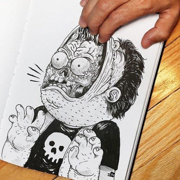 Desenhos criativos em 3d (9)