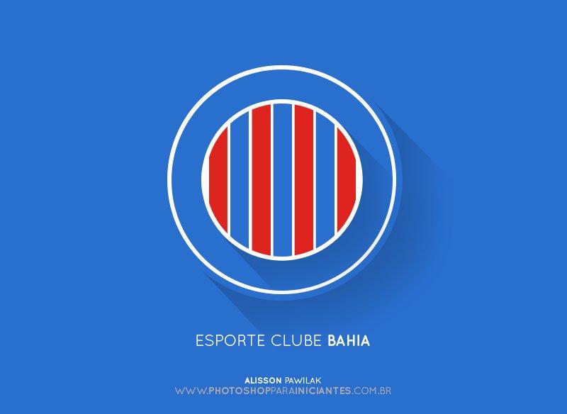 Bahia - Escudo Minimalista