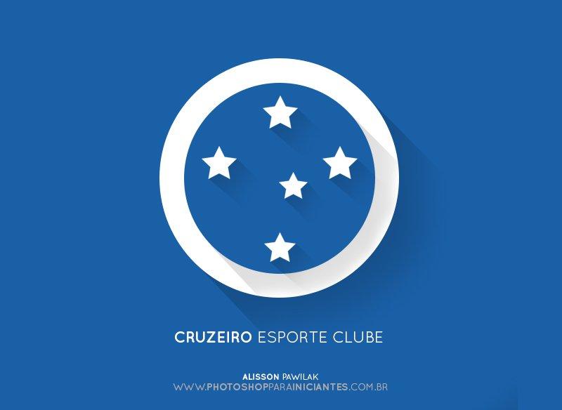 Cruzeiro - Escudo Minimalista