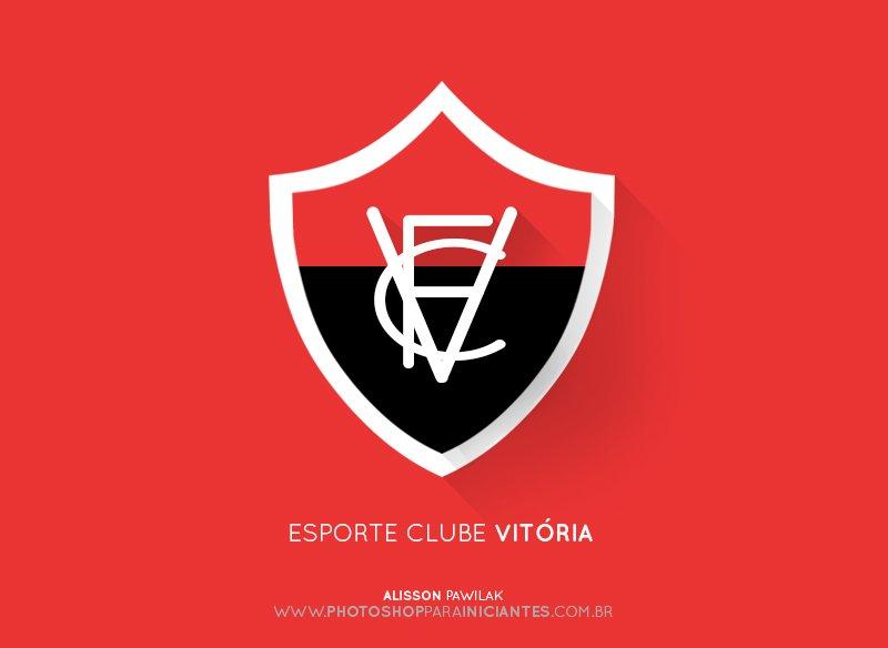 Vitória - Escudo Minimalista