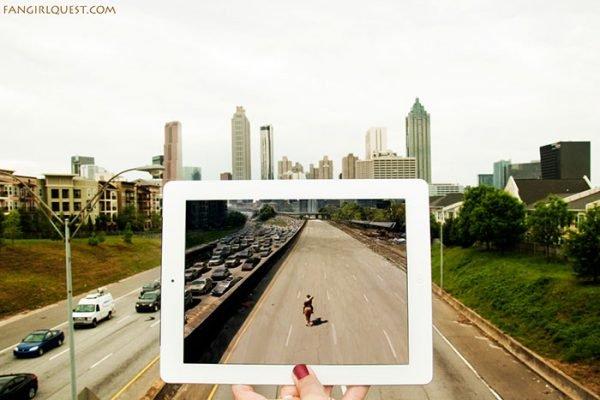 Fotografias criativas de lugares onde alguns filmes foram criados (4)