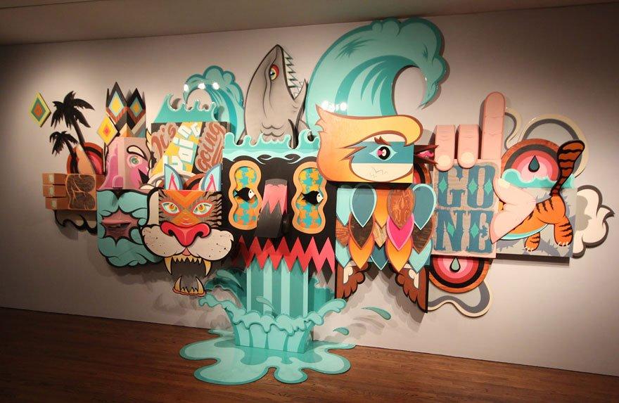 Arte urbana em museu (8)