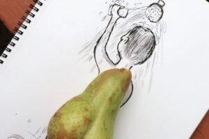 Desenhos criativos feitos com objetos do cotidiano (13)