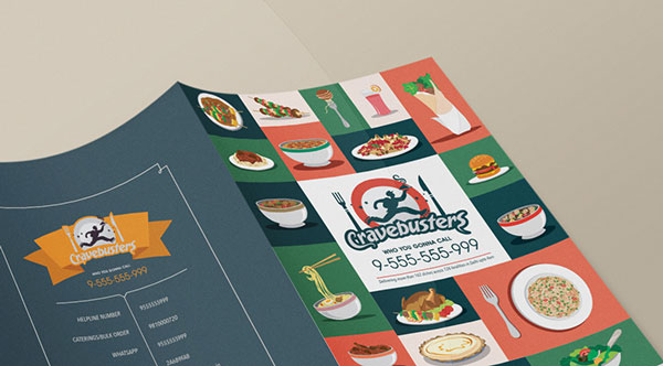 Folders criativos para pizzaria e restaurantes (23)
