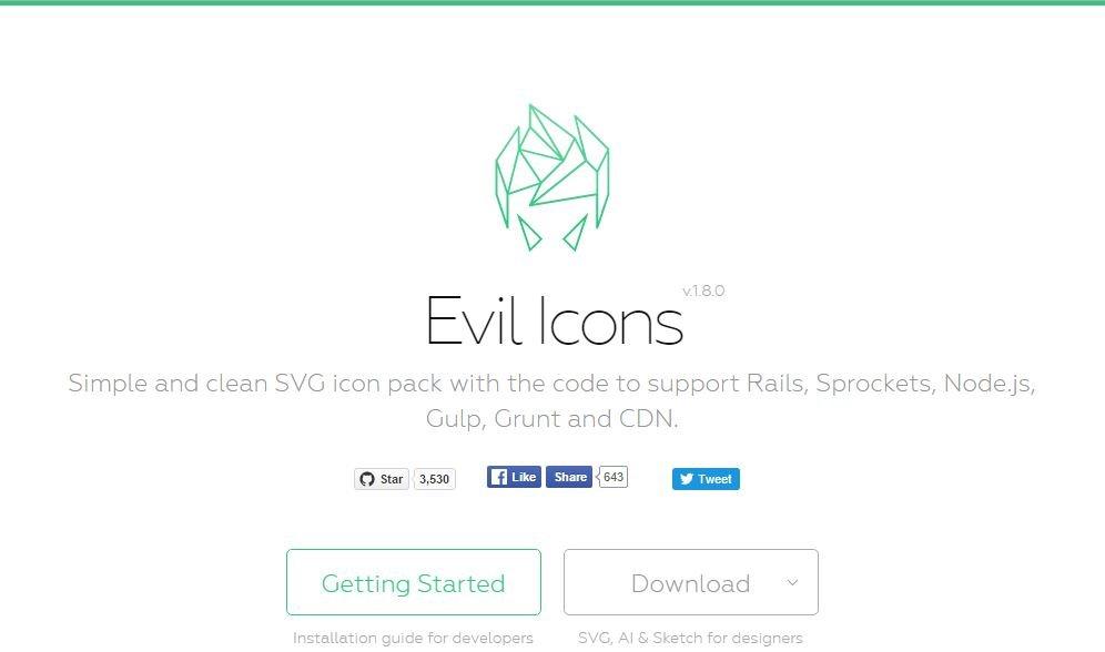 ícones em svg para utilizar em sites